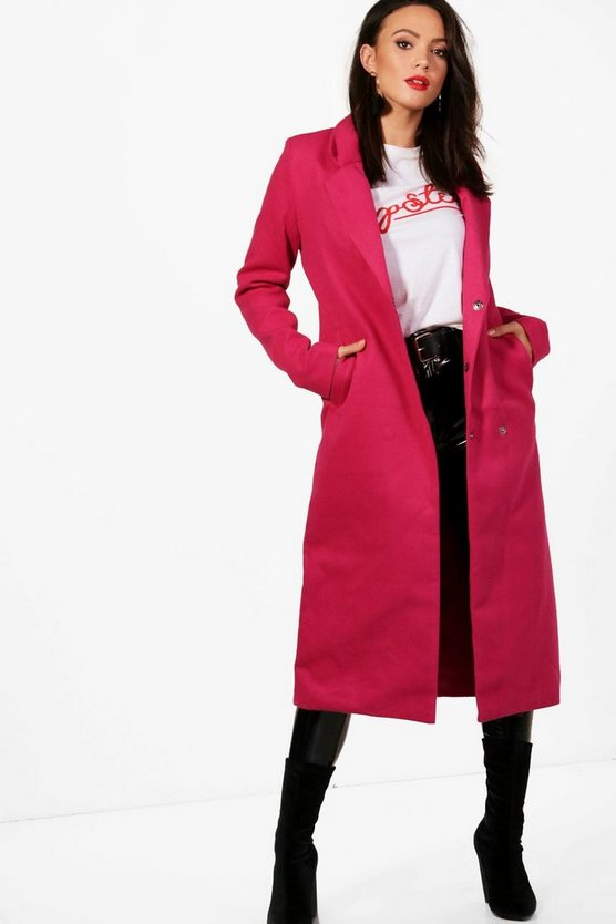 Tall Erin Longline Wool Coat