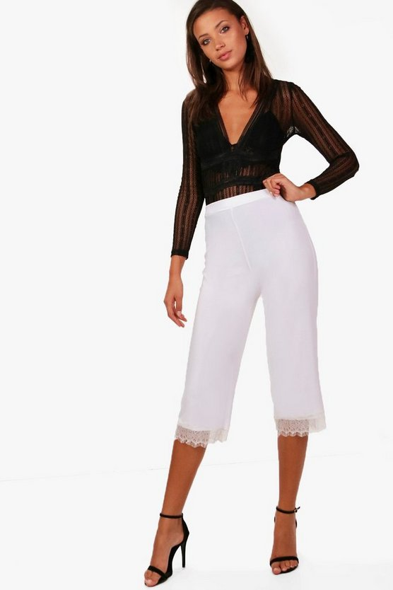 Tall Maya Lace Panel Trouser