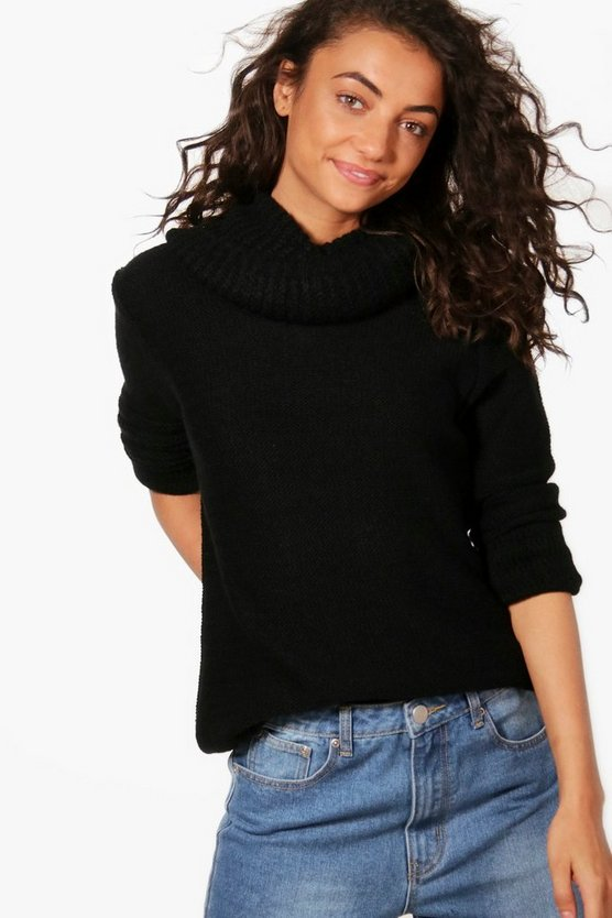 Tall Roll Neck Jumper