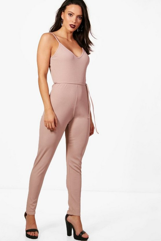 Tall Ava Strappy Loungewear Jumpsuit