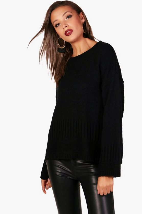 Tall Aria Wide Sleeve Jumper