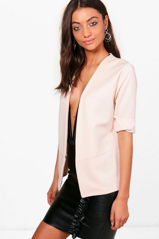 Tall Stella Collarless Blazer
