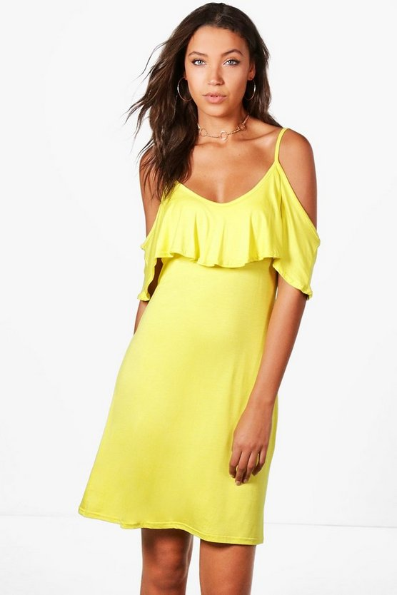 Tall Harriet Frill Strappy Dress