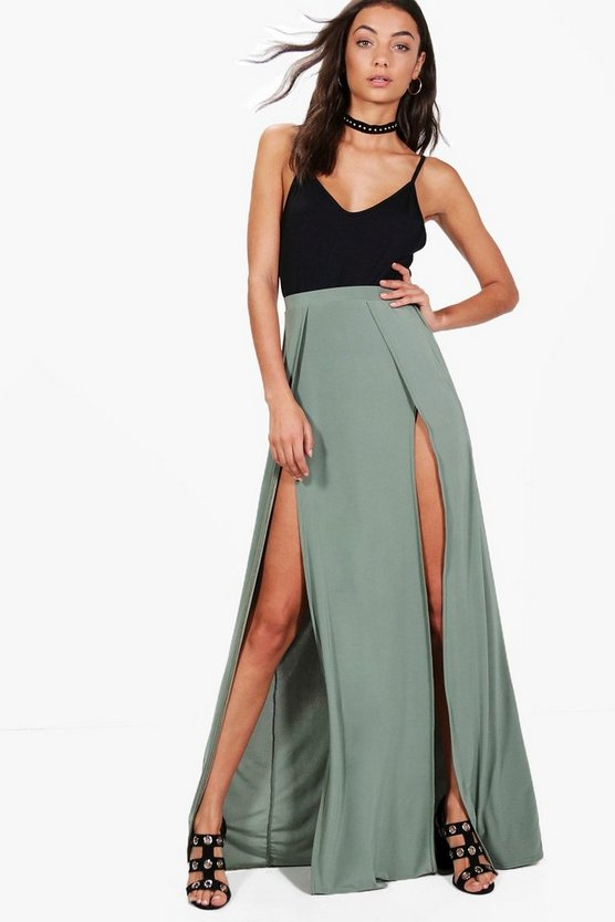 Tall Lucy Split Maxi Skirt