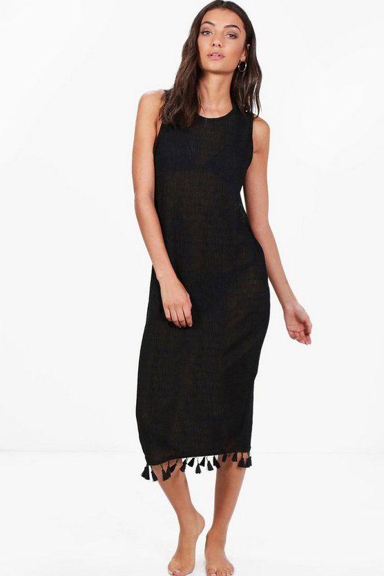 Tall Sophie Tassle Beach Dress