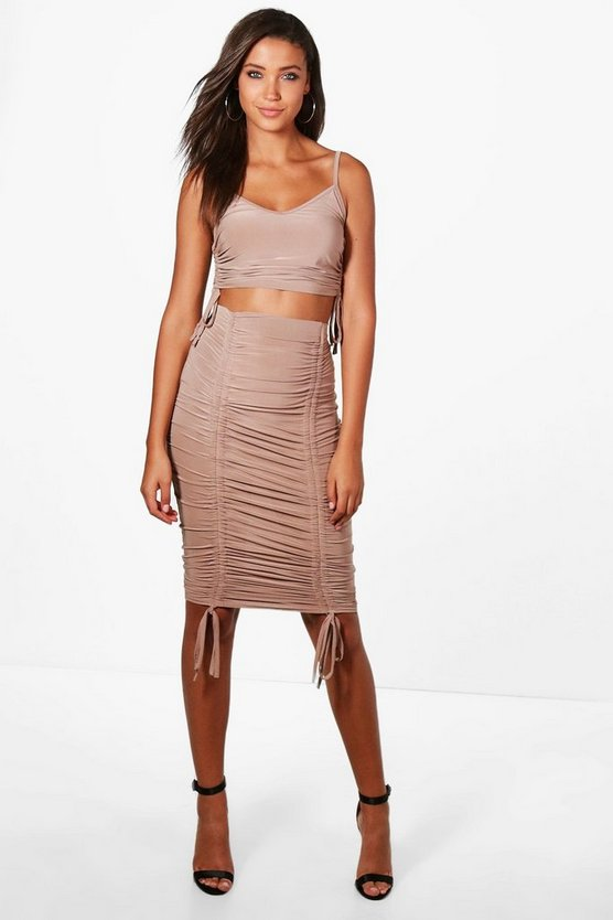 Tall Zoe Slinky Drawstring Co-ord