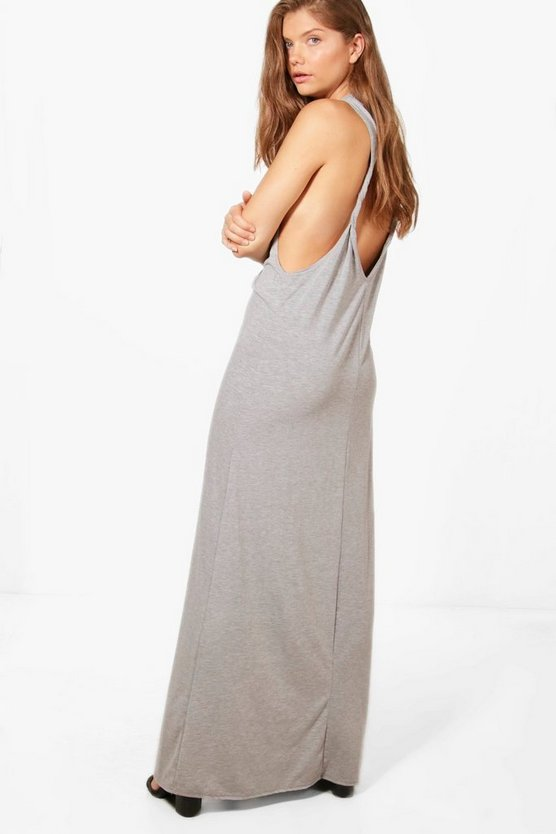 Tall Maci Twist Open Back Maxi Dress