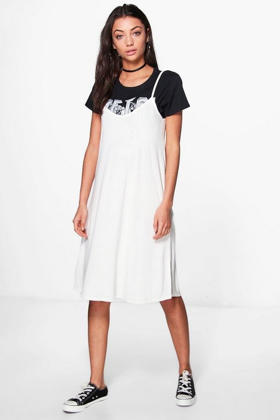 Tall Liya Cami Swing Dress
