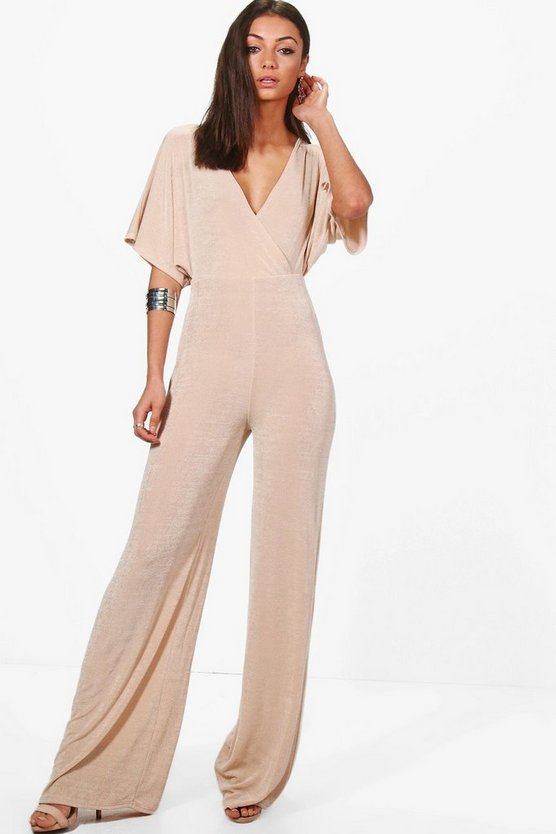 Tall Preya Premium Fabric Wide Leg Jumpsuit