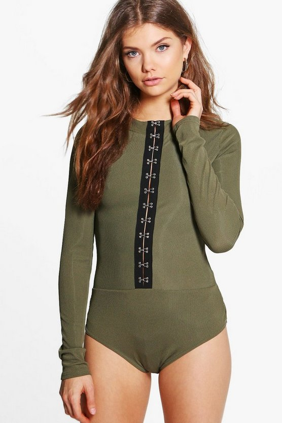 Tall Karine Hook And Eye Bodysuit