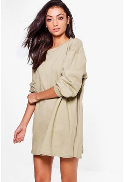 Tall Cleo Oversized Sweat Dress