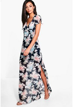 Tall Arella Open Back Maxi Dress