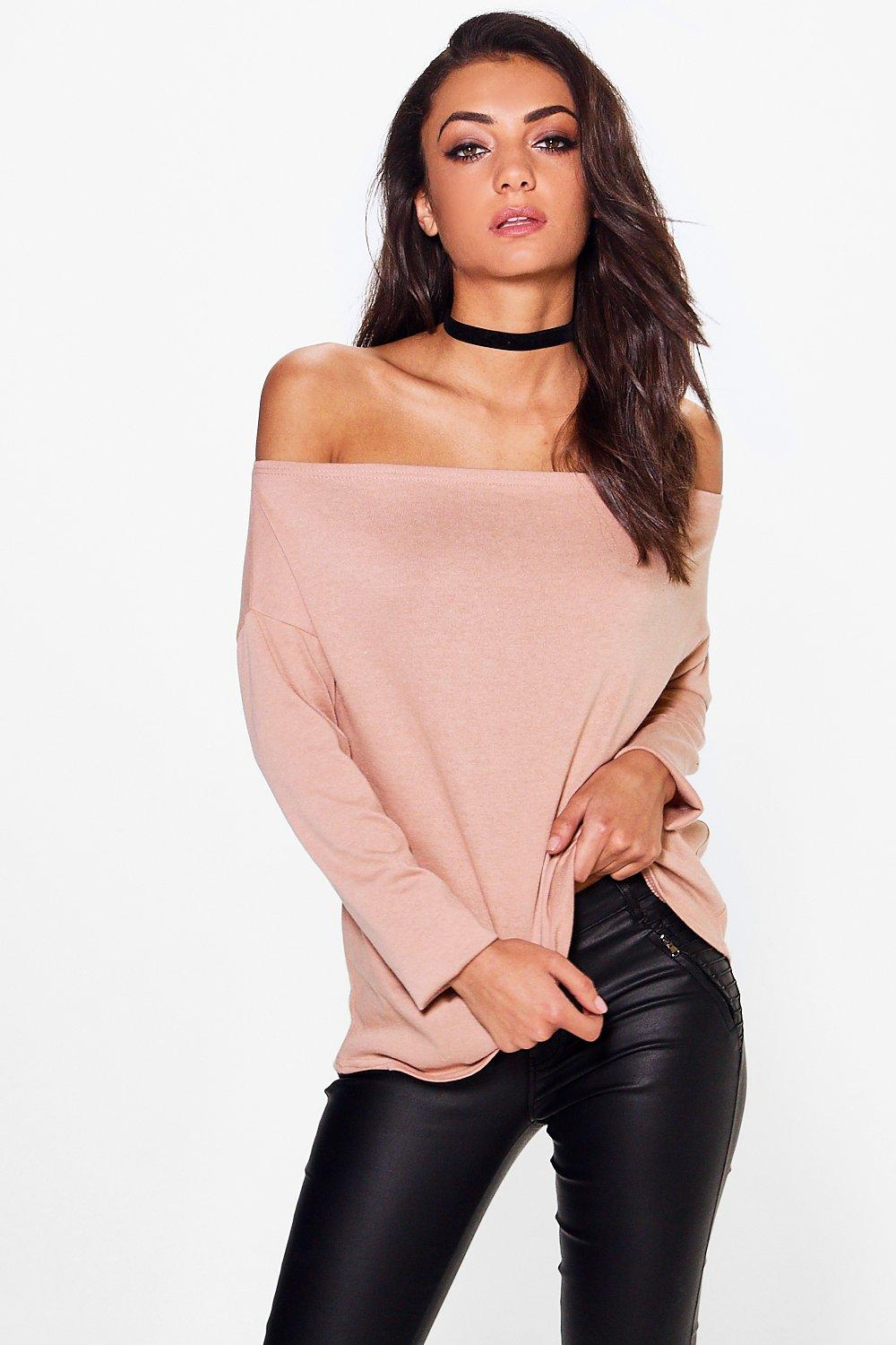 Tall Nola Off The Shoulder Jumper