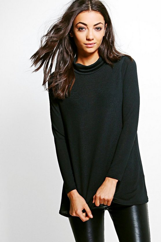 Tall Lucie Roll Neck Jumper