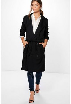 Tall Tia Belted Mac Coat