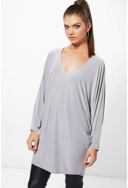 Tall Georgia Oversized Slinky Tunic
