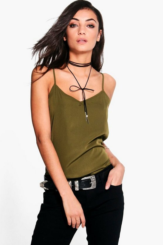 Tall Thana Solid Woven Cami