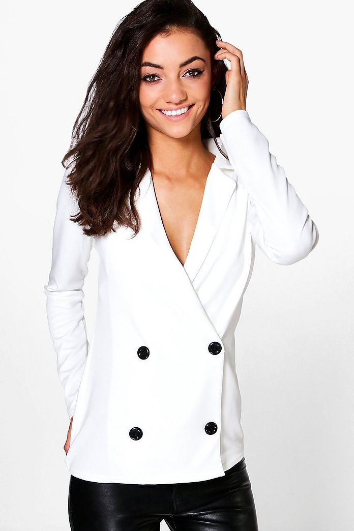 Tall Haidee Double Breasted Blazer Jacket