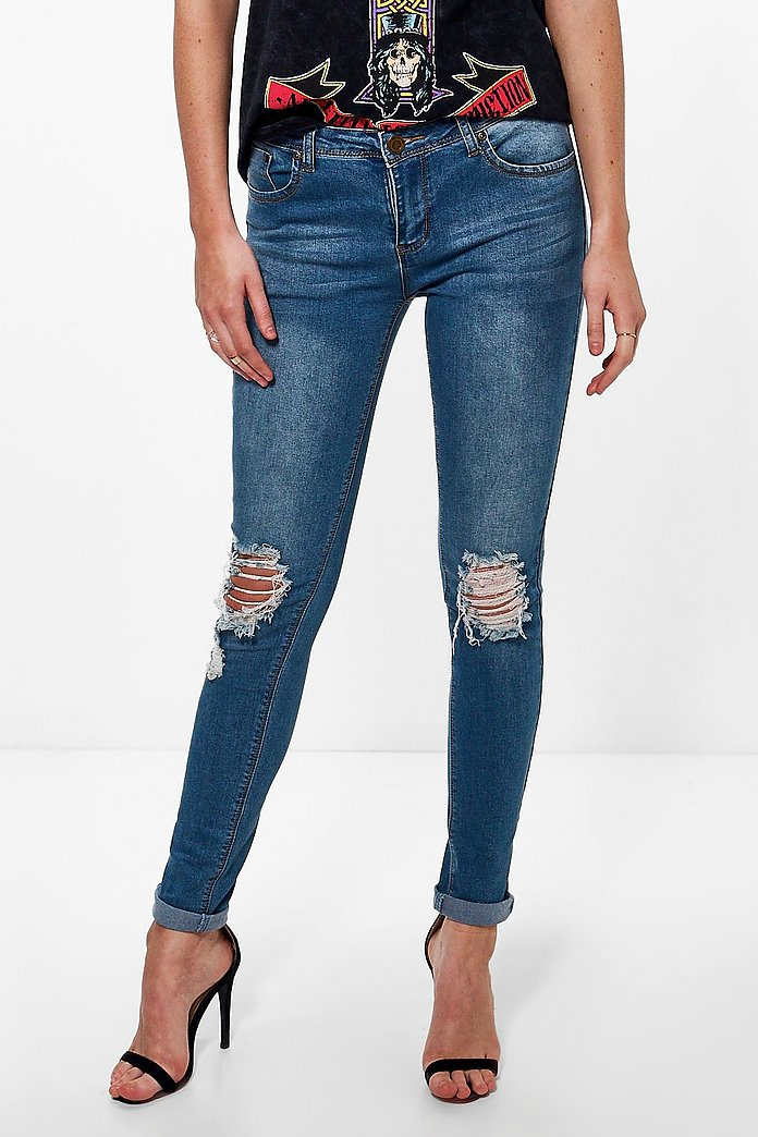 Tall Honor Ripped Knee Jean