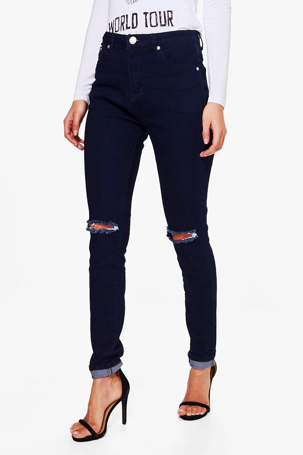 Tall Hara Ripped Knee Skinny Jean