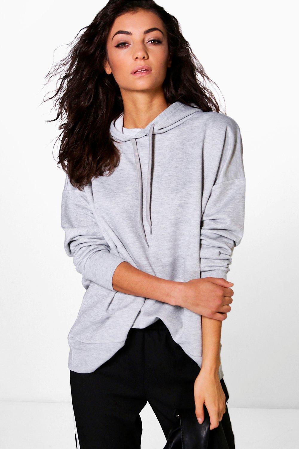 Tall Kai Wide Hem Oversized Hoody