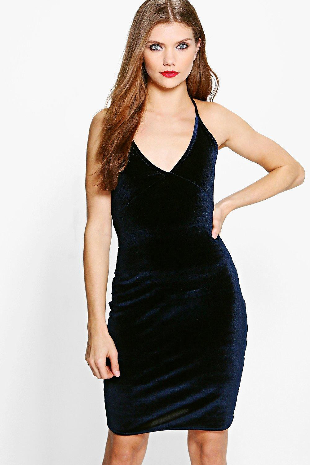 Tall Lyle Velvet Midi Dress