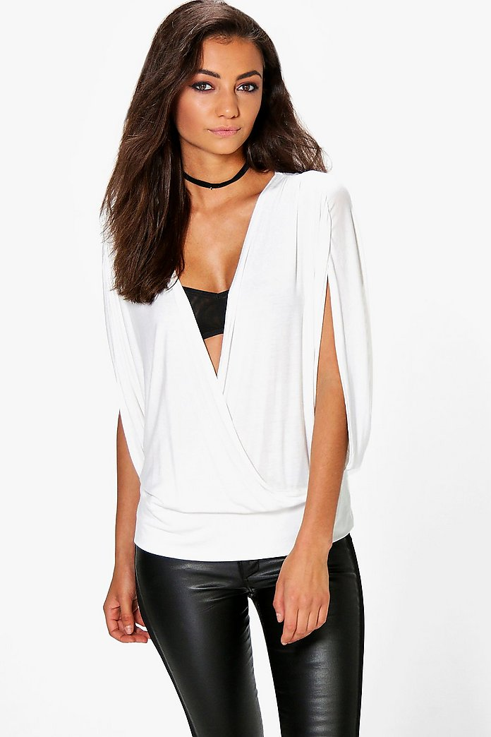 Tall Madia Wrap Front Top