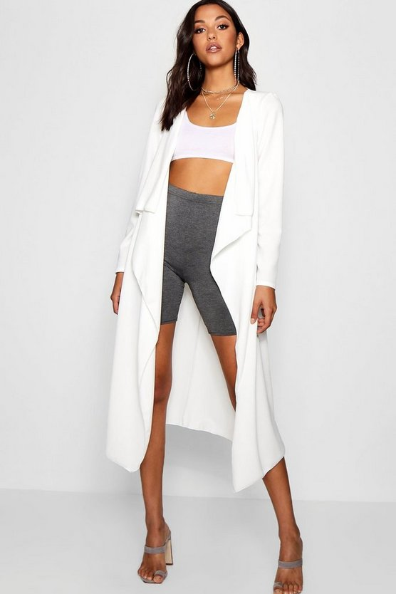 Tall Waterfall Duster Jacket