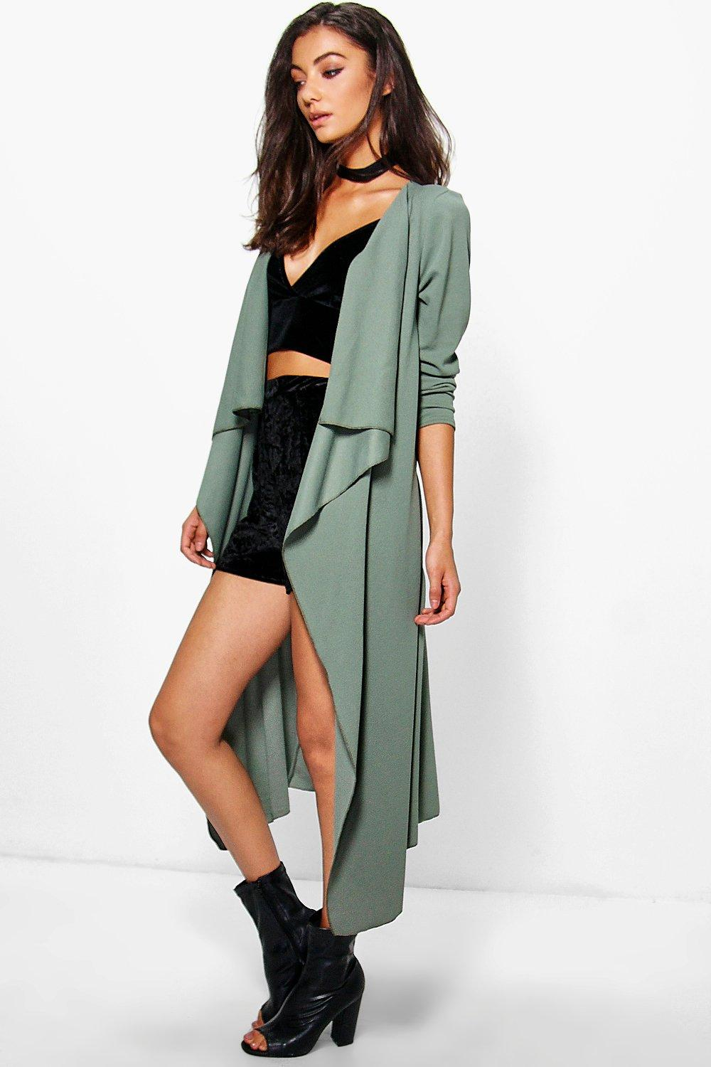 Tall Salana Waterfall Duster Jacket