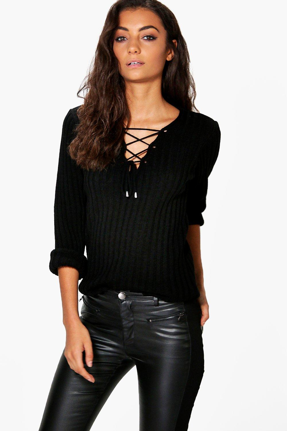 JUMPERS & SWEATERS. This season's sweater line up promises serious style miles. Think chic crew necks, slouchy cardis, statement stripes and high voltage brights, all exclusively designed for women .