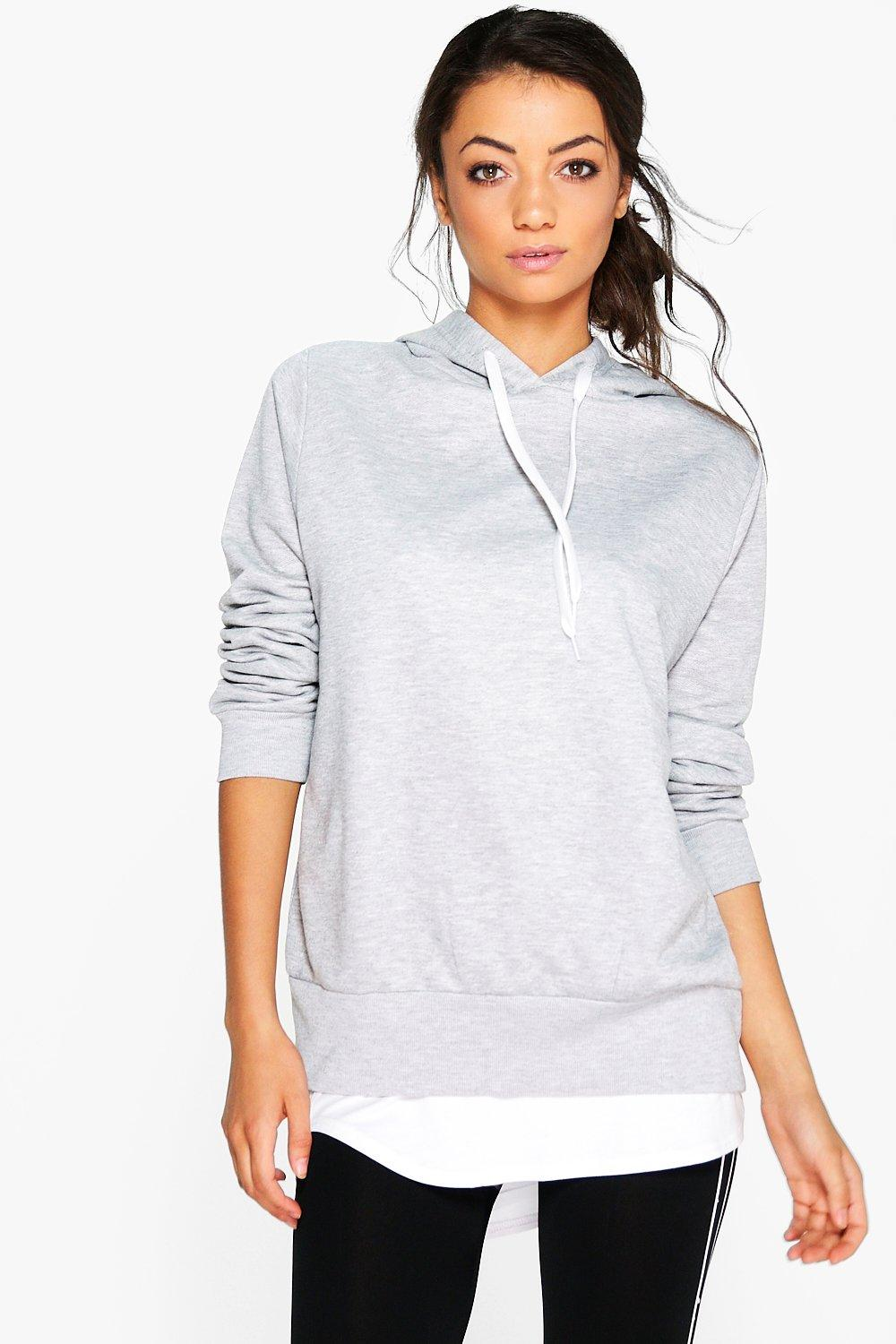 Tall Elen Overhead Oversized Basic Hoody