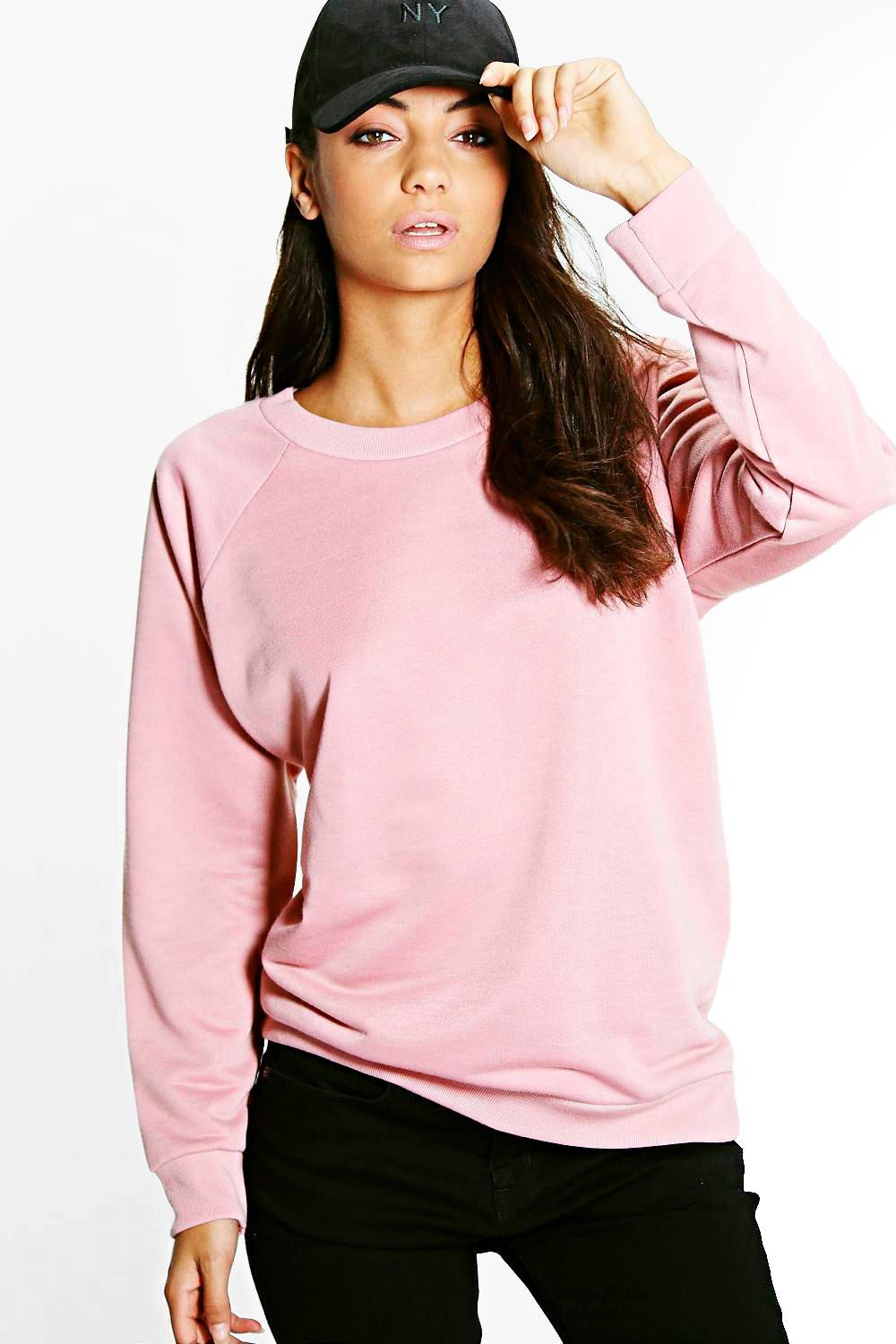 Tall Maiya Crew Neck Oversized Sweat Shirt