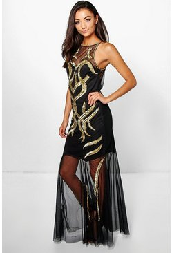 Tall Boutique Sallie Embellished Maxi Dress