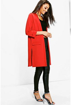 Tall Sadi Pocket Duster Coat