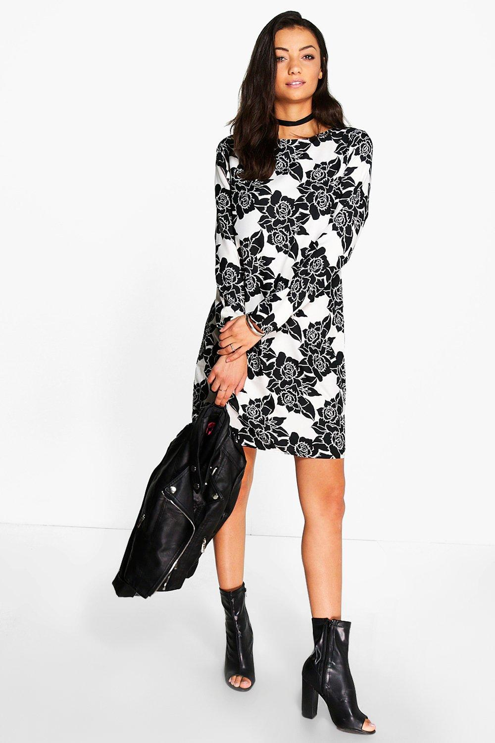 Tall Rae Floral Shift Dress