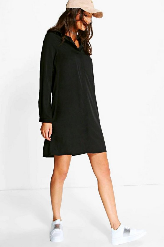 Tall Gemma Oversized Shirt Dress