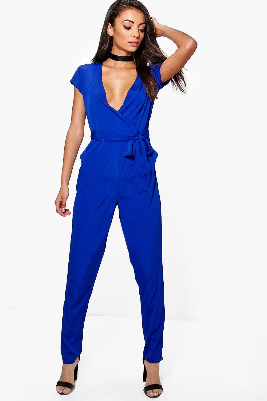 Fantastic Navy Blue Jumpsuit Womens - Breeze Clothing
