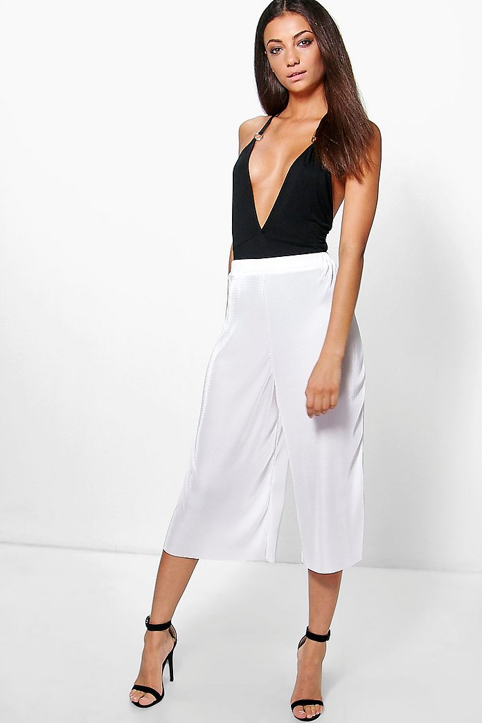 Tall Boutique Bea Fine Pleat Premium Culottes
