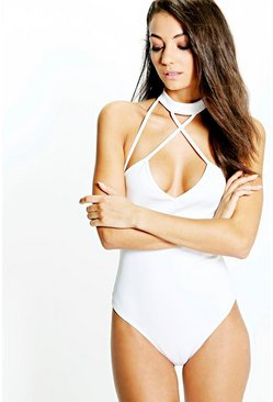 Tall Lorelle Strappy Neck Strap Scuba Body