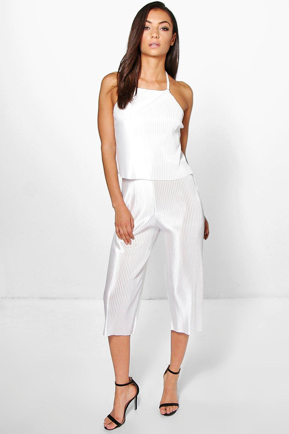 Tall Lorna Boutique Pleated Jumpsuit