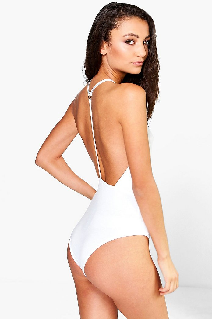 Tall Bethan Harness Strappy Back Body