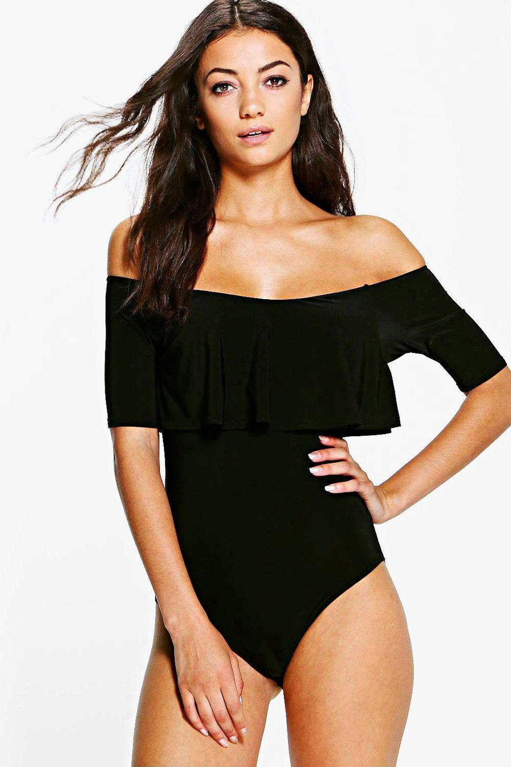 Tall Poppy Slinky Off The Shoulder Body