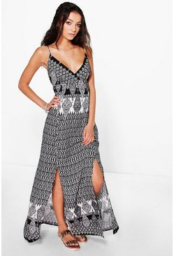 Tall Rosa Paisley Printed Maxi Dress