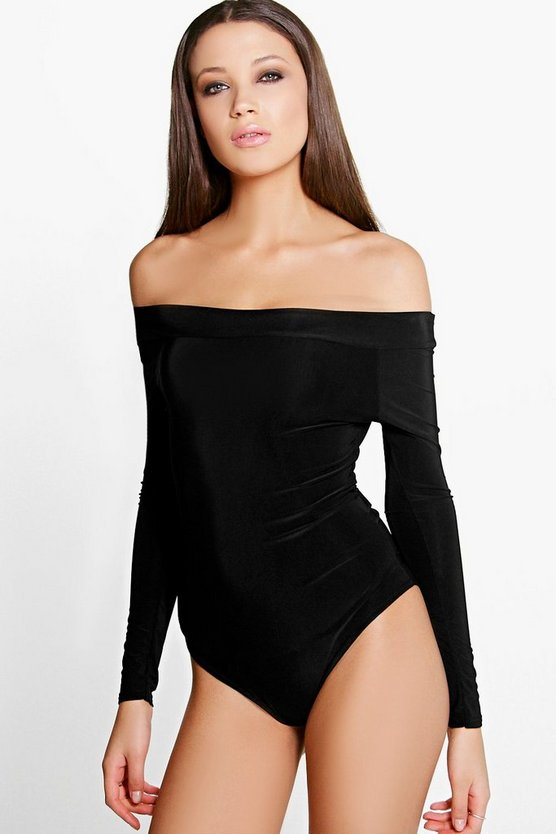 Tall Ellie Slinky Off The Shoulder Bodysuit