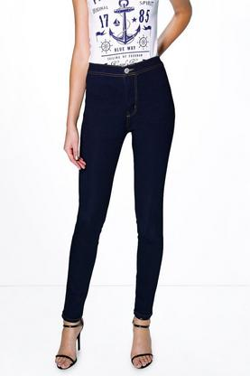Tall Narla High Waisted Skinny Tube Jeans