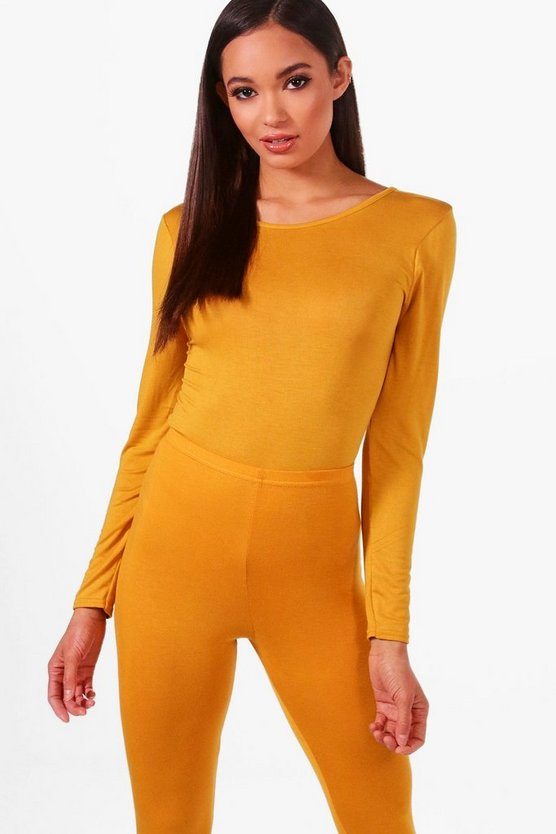Tall Scoop Back Basic Bodysuit