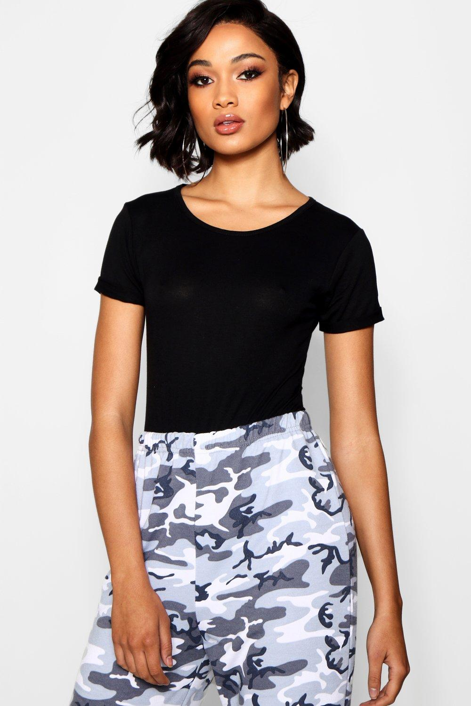 Womens Tall T-Shirt-Body - Schwarz - 34, Schwarz - Boohoo.com