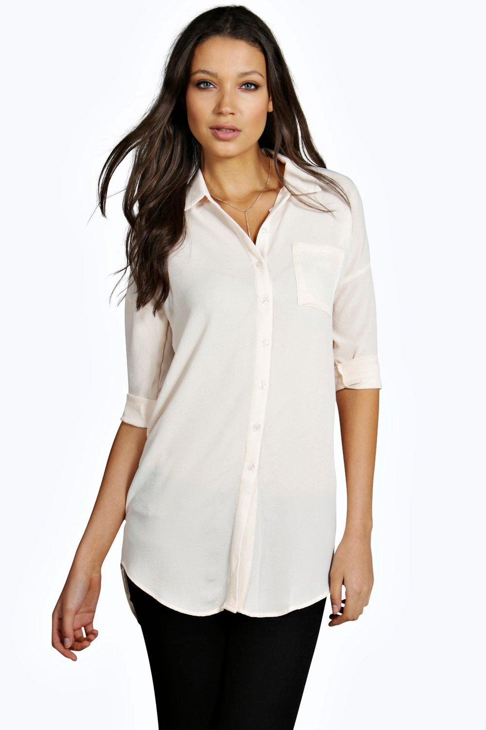 Tall Rory Oversized Woven Shirt