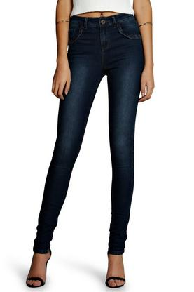 Tall Plait Detail Denim Skinny Jean