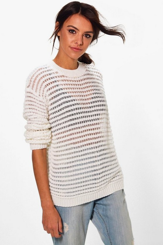 Georgina Long Sleeve Loose Fit Jumper